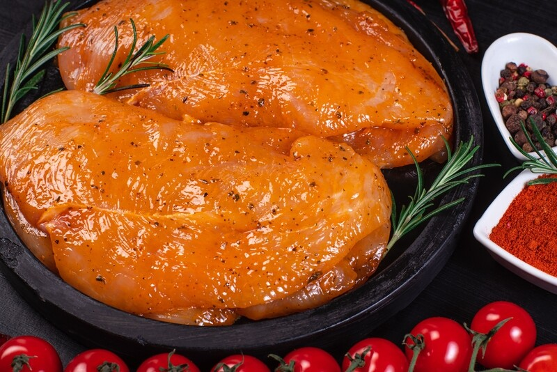 6oz All Natural Trimmed Bourbon Street Chicken Breast (Sold in 4PK)