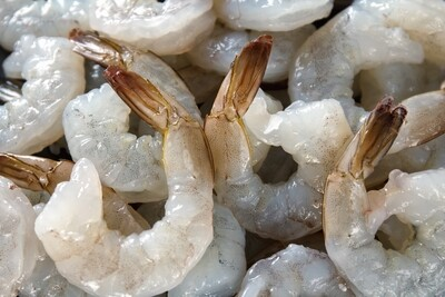 2lb Gulf Coast Extra Jumbo Shrimp, Cleaned, Tail On (16/20ct)