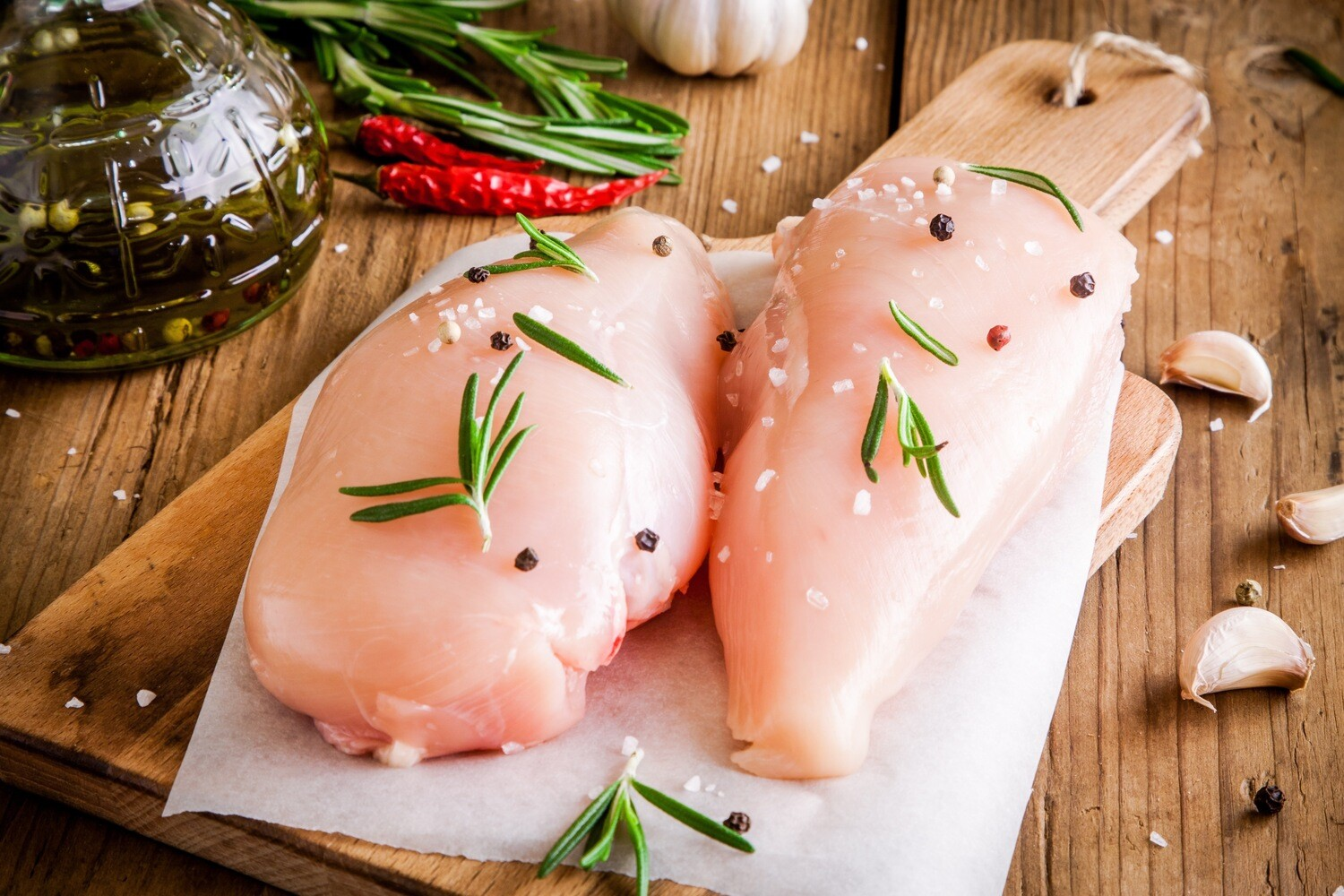 5oz Murray's ORGANIC Trimmed Chicken Cutlets (Sold in 4PK)