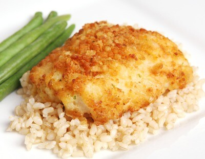 6oz Potato Crusted Pacific Cod with Chives + Cheddar (Sold in 2PK)