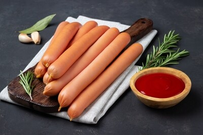 16oz Thumann's Natural Casing Pork and Beef Hot Dogs (Sold in 2PK)
