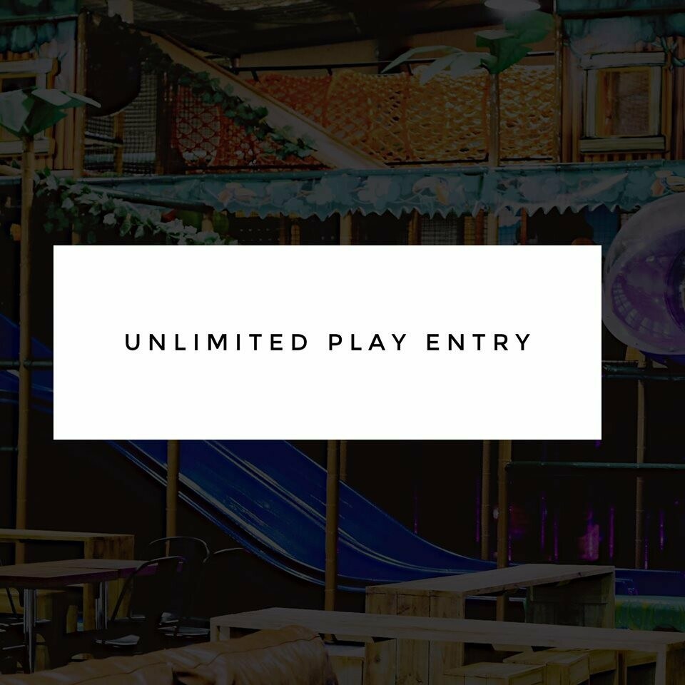 1 Unlimited Play Entry - Gift Voucher