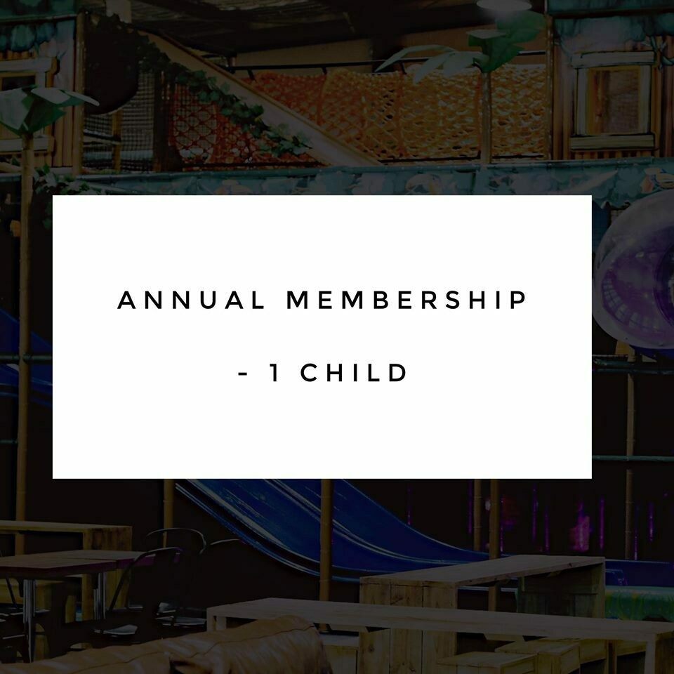 Annual Membership - 1 Child