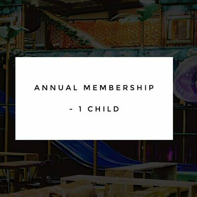 Annual Membership - 1 Child