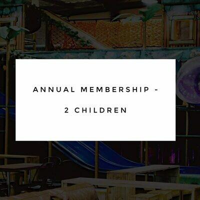 Annual Membership - 2 Children