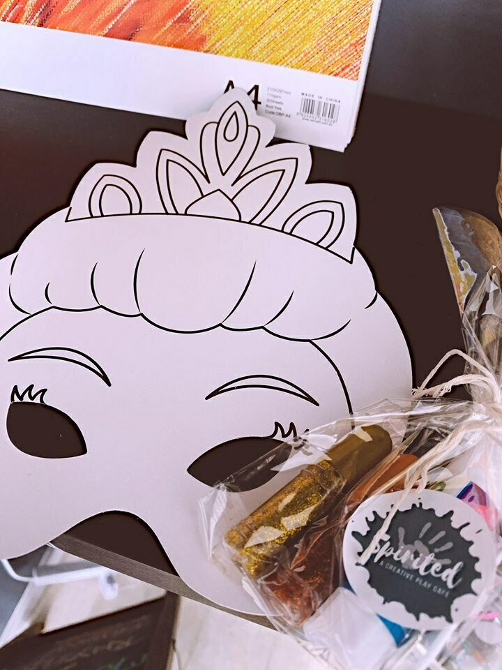 DIY Princess Mask Kit