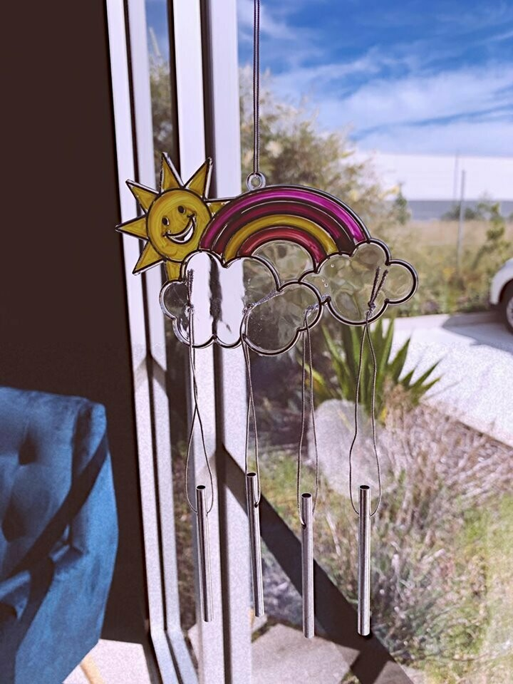 Rainbow Wind-Chime Sun Catcher