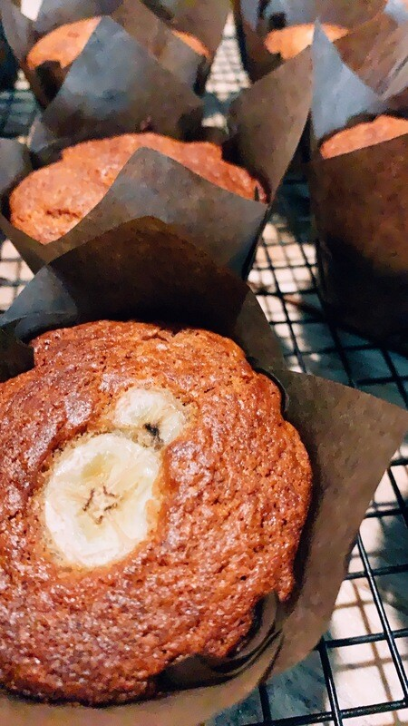 Banana Bread Muffins (6 Pack)