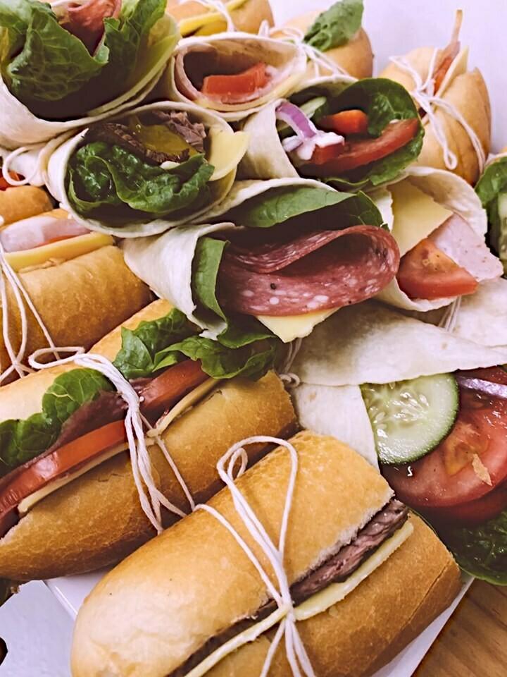 Wrap / Roll / Sandwich Platter
