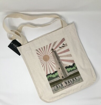 Old Baldy Opacity Tote