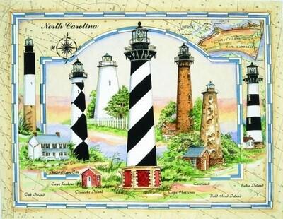 Coastal Lights of North Carolina