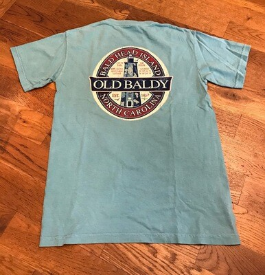 Old Baldy Antique Oval Tee