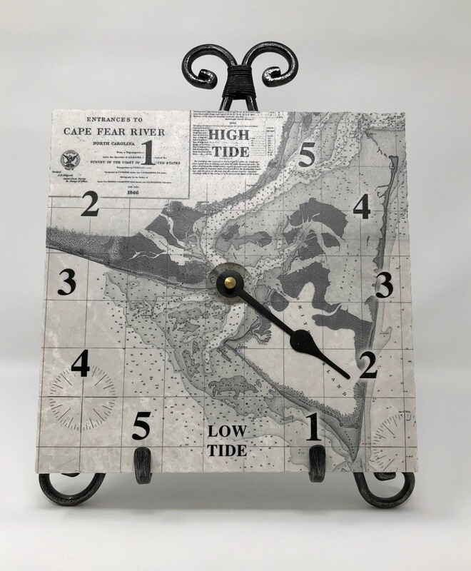 Smith Island Marble Tide Clock