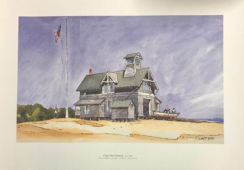 Cape Fear Station, circa 1882