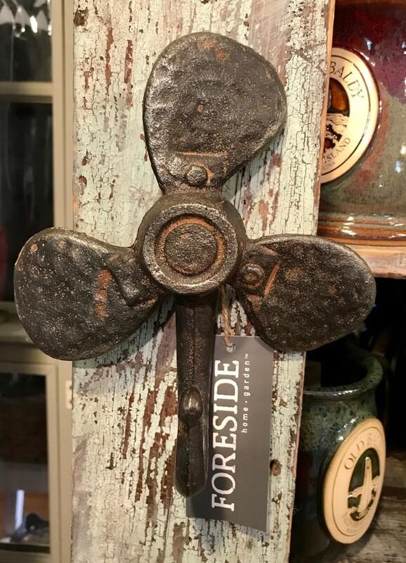 Wrought Iron Propeller Hook