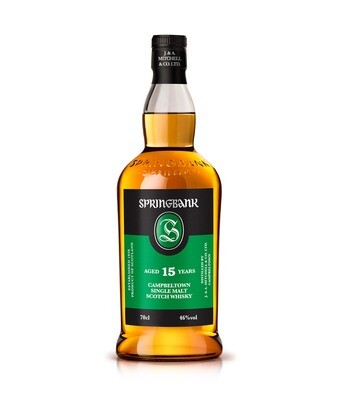 Springbank 15 Year old 46%
