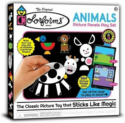 Colorforms Animals Picture Panels Playset