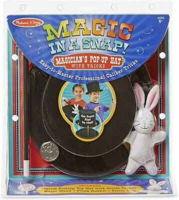 Melissa & Doug- Magician's Pop-Up Hat with Tricks
