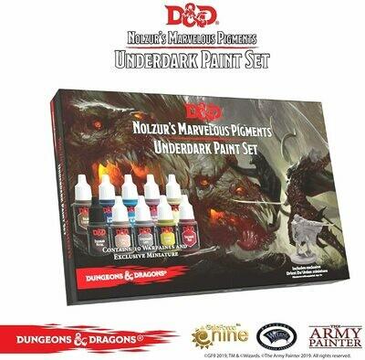 Army Painter Underdark Paint Set