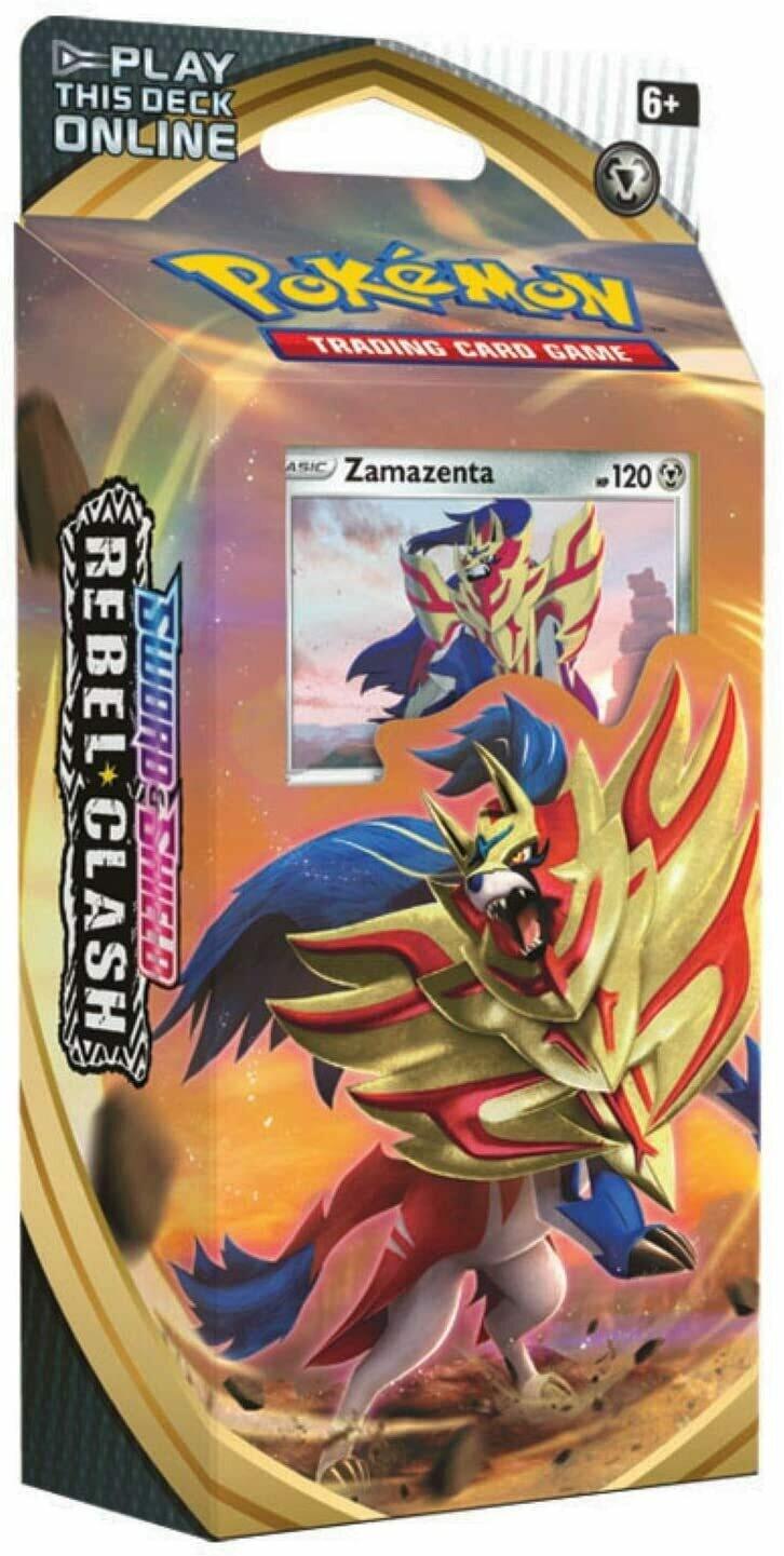 Pokemon Rebel Clash Theme Deck- Zamazaenta