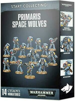 WH 40k Start Collecting Primaris Space Wolves