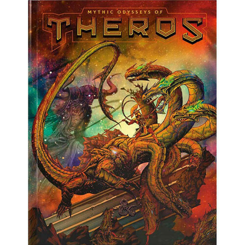 D&D Mythic Odysseys of Theros, Exclusive Alternate Cover