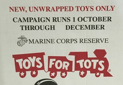 $15 Toy Donation for Toys for Tots
