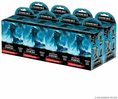 D&D 5e Ice Wind Dale Wizkids Booster Pack x2