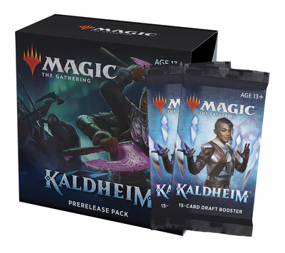 4 x MTG Kaldheim Prerelease Kit Take-Home Kit