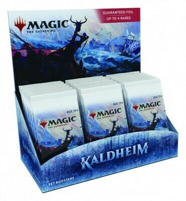 MTG Kaldheim Set Booster Box