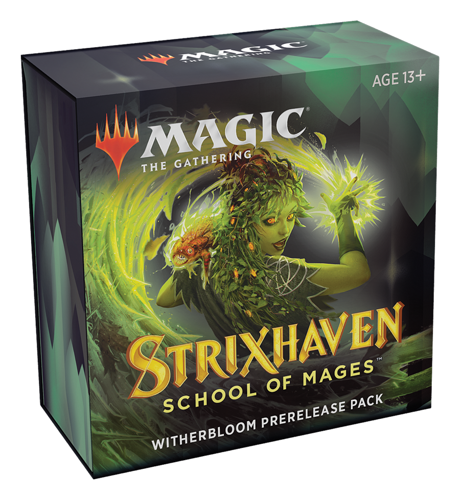 Strixhaven Witherbloom Prerelease Kit