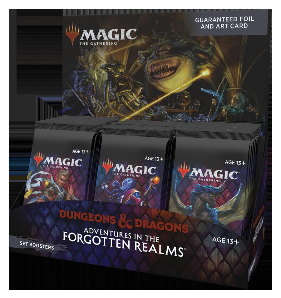 MTG Forgotten Realms - Set Booster Box