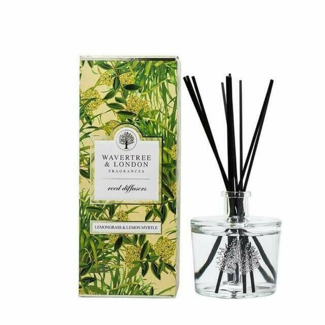 WAVERTREE&LONDON - Fragrance Diffuser-LEMONGRASS/LEMON MYRTLE-350ml