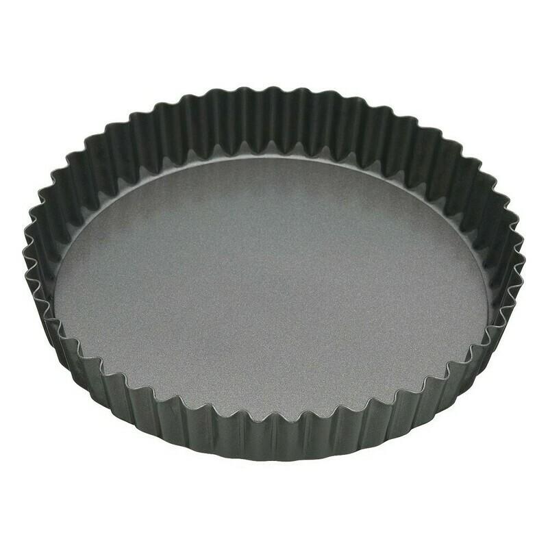 BAKEMASTER -Loose Base Round Deep Flan/Quiche Pan 25cm(Diam)/5.5cm(D)