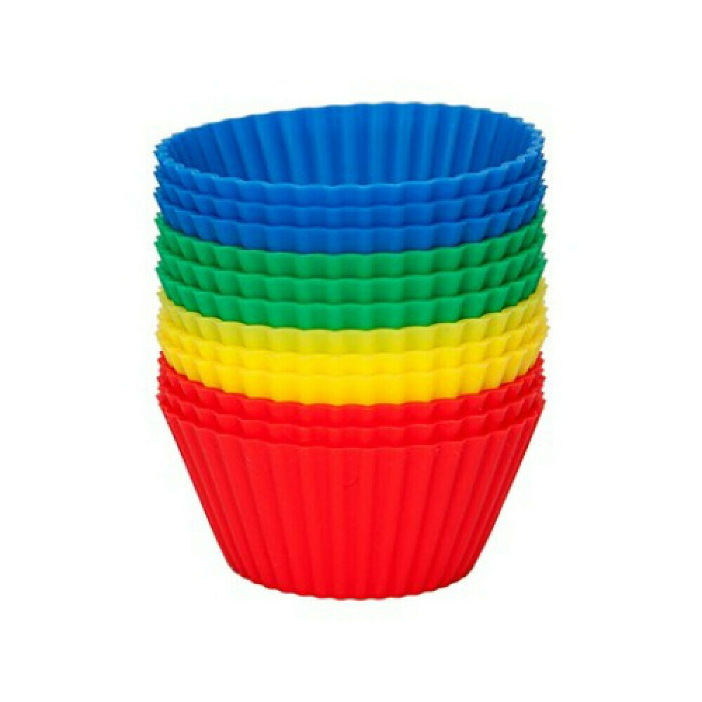 AVANTI - 9cm Silicone Muffin Cups set of 12