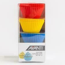 AVANTI- Silicone Cupcake Cups Set of 12