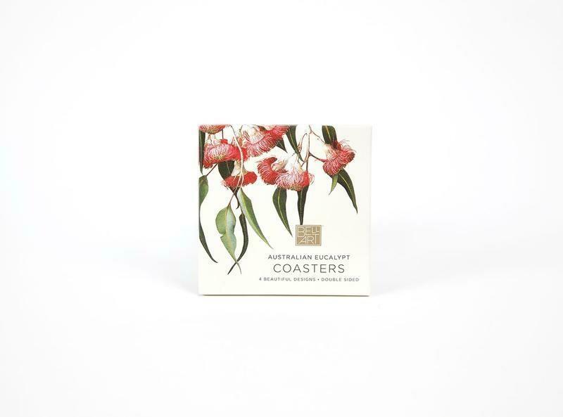 BELL ART - Eucalypt Drink Coasters