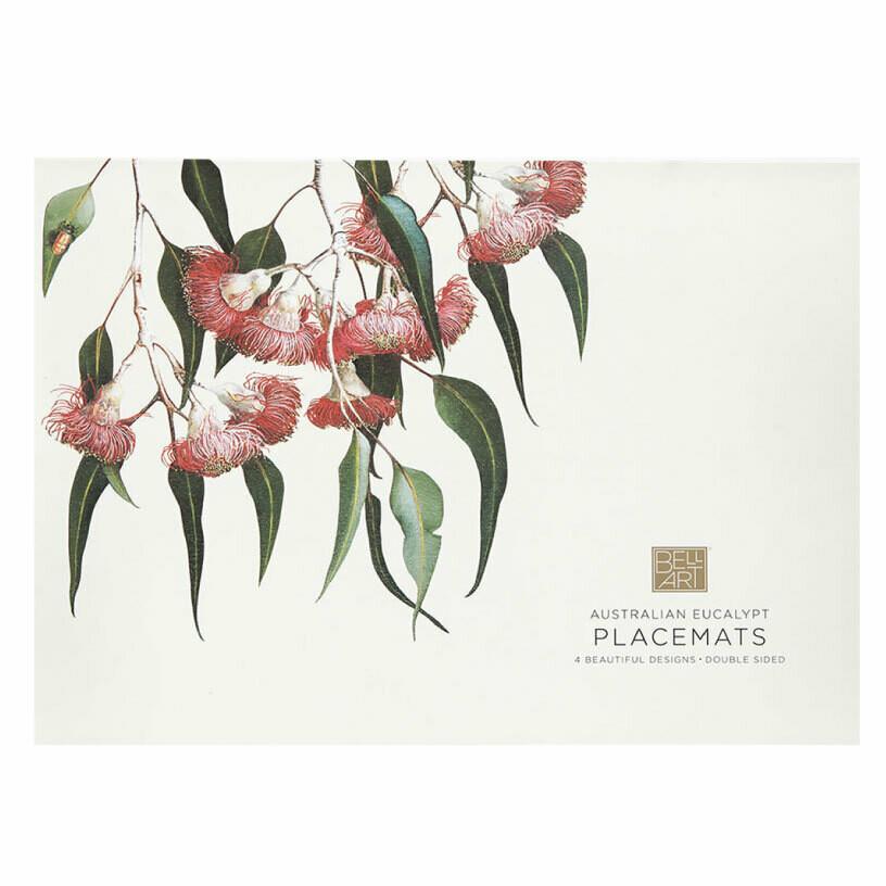 BELL ART - Australian Eucalypt Placemats x 4
