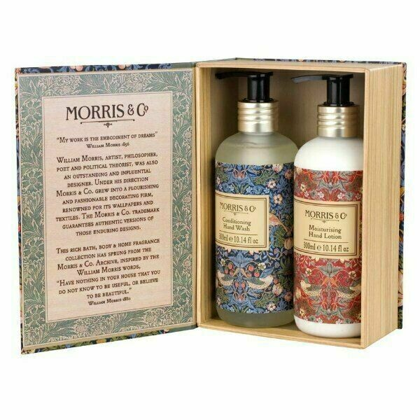 MORRIS&Co -Strawberry Thief Hand Wash and Hand Lotion Duo