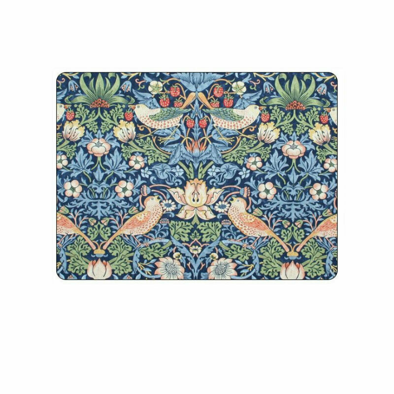 MORRIS&Co - for Pimpernel Strawberry Thief Blue Placemats - Set of 6