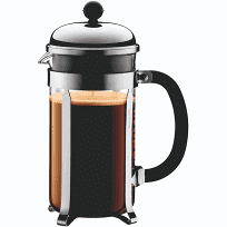 BODUM - Chambord 8 Cup French Press incl. shatterproof polycarbonate beaker