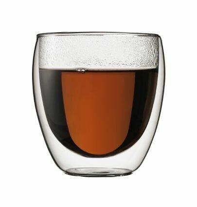 BODUM - PAVINA (Double Wall) Thermo-Glasses Box Of 8 Small-0.25l/8 fl oz
