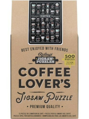 COFFEE  LOVERS JIGSAW PUZZLE 500 Pc