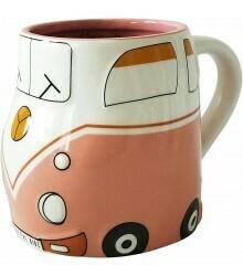 URBAN PRODUCTS - Bug Car Mug Pink 10cm