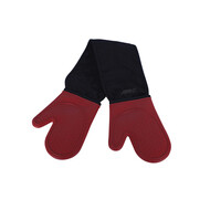 AVANTI - Silicone Double Oven Mitts-Red
