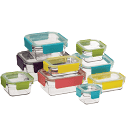 GLASSLOCK - 9 Piece Premium Oven Safe Set