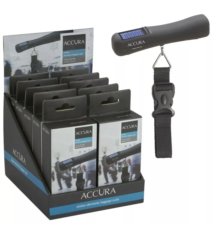 ACCURA - Stratos Luggage Scale 40kg