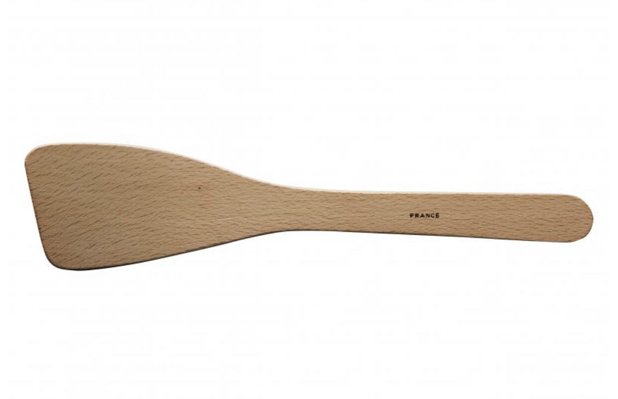 AVANTI - Beechwood Plain Curved Spatula -30cm