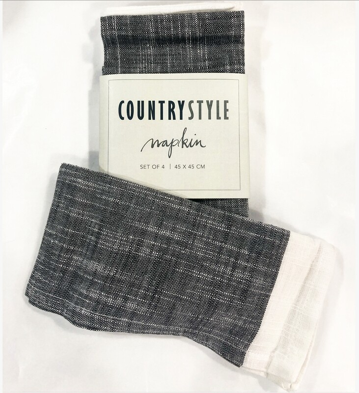COUNTRYSTYLE Napkin X 4