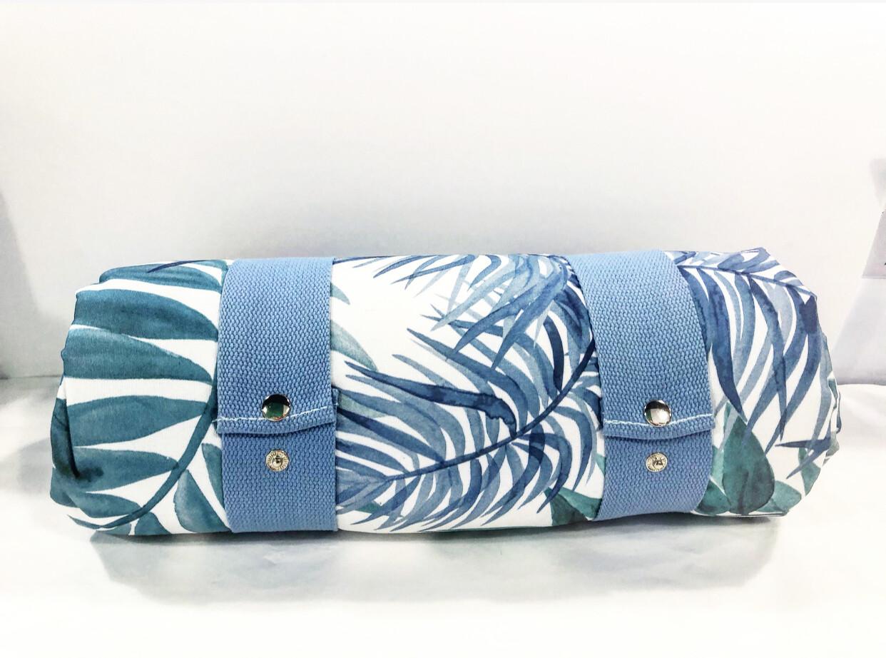 """MADRAS LINK - picnic rug """"Hamilton blue""""design"""